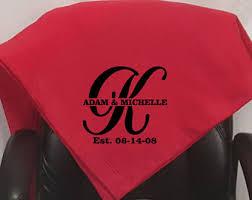 personalized wedding blanket wedding blanket etsy