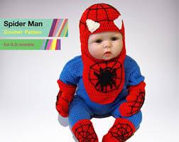 Baby Spider Halloween Costume Spiderman Costume Etsy