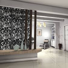 dividers for living room wood and glassrtition dining between
