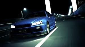 nissan skyline r34 wallpaper vehicles skyline gran turismo 5 gt r r34 wallpaper 165625