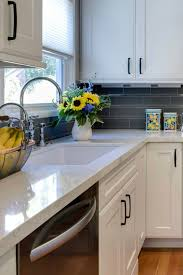 white kitchen cabinets black tile floor white kitchen cabinets with black hardware countertopsnews