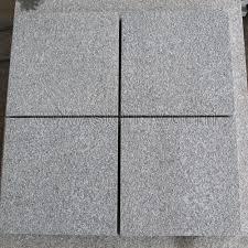 granite g654 grey flamed tiles for flooring or building facade