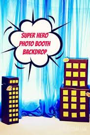 Superhero Photo Booth Instant Download Baby Marvel Super Hero Inspired Printable Photo