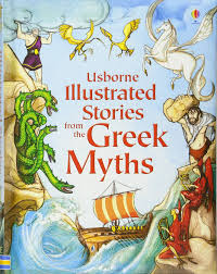 illustrated stories from the greek myths illustrated story