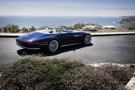 mercedes supercar concept ultra luxurious mercedes maybach 6 cabriolet concept unveiled