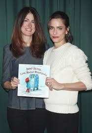 Christine Barnes Amanda Peet At Dear Santa Love Rachel Rosenstein Book Signing At