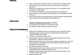 automotive technician resume template resume examples marcus wood