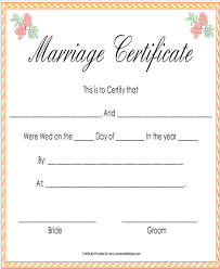 sample marriage certificate 16 documents in pdf word