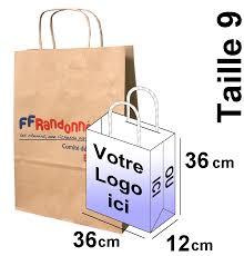 sac en toile personnalisable sac papier kraft taille 9 personnalisables vendu par lot de 3000 sacs