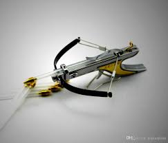 mini crossbow hunting bow arrow have fun shooting stuff stainless