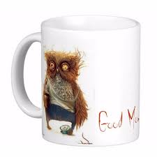 animal mug aliexpress com buy drunk owl white coffee mugs tea mug customize