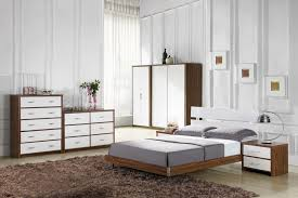 Walnut And White Bedroom Furniture | walnut and white high gloss bedroom furniture white bedroom design
