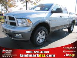 dodge jeep silver 2012 dodge ram 1500 outdoorsman crew cab 4x4 in bright silver