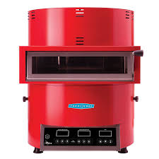 turbochef countertop pizza oven single deck 208 240v 1ph red