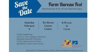 bureau expo farm bureau membership kick and benefit expo ohio farm