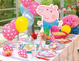 peppa pig party how to style a peppa pig party party pieces inspiration