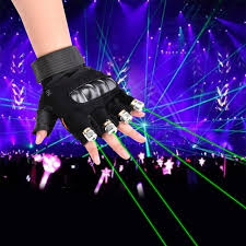 glow show cool lighting show laser gloves party lights glow party