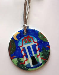 unc well ornament by elaine o neil tarheels gifts