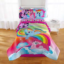Rainbow Comforter Set My Little Pony Comforter Ebay