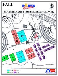 map of allen fields gyms