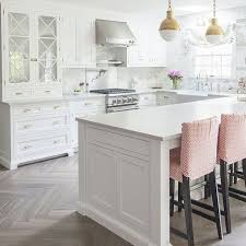 white kitchen flooring ideas white kitchen floor tiles in herringbone pattern morespoons