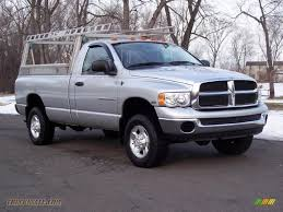 2004 dodge ram 2500 slt regular cab 4x4 in bright silver metallic