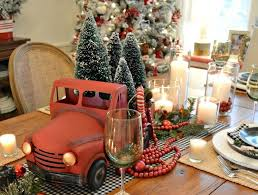 Fire Trucks Decorated For Christmas 21 Affordable Rustic Farmhouse Christmas Decor Ideas Crafts On Fire