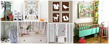 chambre bebe garcon theme deco chambre bebe foret idées décoration intérieure