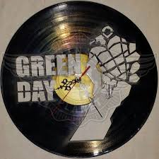 Coolest Clock Vinyl Wall Clock Green Day