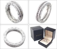 bvlgari rings buy images Alevel rakuten global market white gold diamond ring k18 1 band jpg