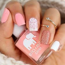 White Pink Nail Gorgeous Light Pink Nails Naildesignsjournal Com