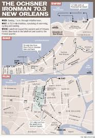 Map Of French Quarter New Orleans by Sunday U0027s Ironman 70 3 New Orleans Takes Athletes From Lakefront To
