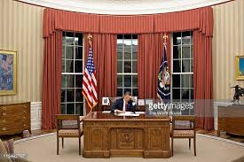 Interior Design White House Oval Office Stock Photos And Pictures Getty Images