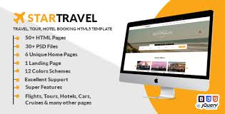html travel website templates from themeforest