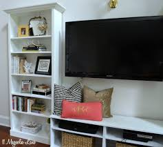 our new home tutorial on our diy built in shelves 11 magnolia lane