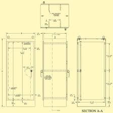 nema type 12 3r u0026 4 free standing single door dual access indoor