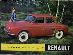 1961 renault dauphine 1966 renault dauphine information and photos momentcar