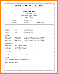 Welder Resume Sample by 6 Actor Resume Examples Welder Resume