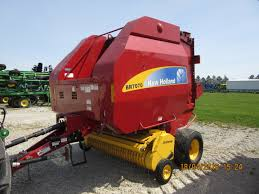 New Holland Br7070 Round Baler Tri Green Tractor In Flora