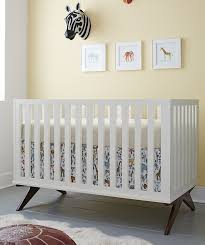 White Convertable Crib Dwellstudio Norfolk Convertible Crib In White Modernnursery