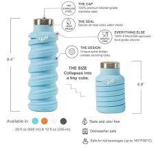 Compressible travel bottles travel water bottle