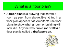 what is the floor plan floor plans graphing your ideas ppt video online download
