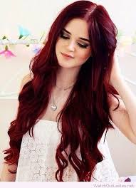 dying red hair light brown perfect deep red hair color inspire hair pinterest deep red