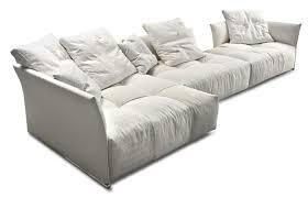 canapé en plume 10surdix canapé pixel 346 cm méridienne tissu blanc 10surdix