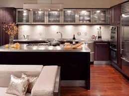 kitchen designs for small areas stained wood shelf decoration