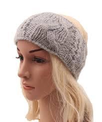 boho headband winter women knitted headband ear warmer headband turban style