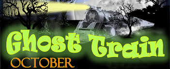 Halloween Ghost Train by Veterans Memorial Railroad