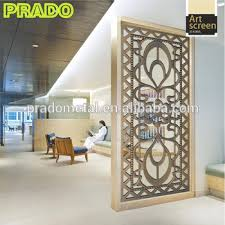 Cheap Room Dividers For Sale - customized interior decoration laser cut metal screen room divider