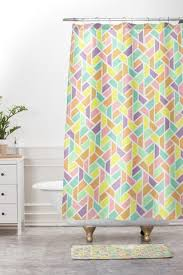 Bright Shower Curtains Hello Sayang Shower Sets Deny Designs