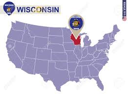 Wisconsin Usa Map Where Is Milwaukee Wi Where Is Milwaukee Wi Located In The